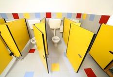 WC w łazience dzieciniec obraz royalty free