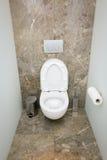 WC wnętrze - Akcyjny wizerunek obraz royalty free