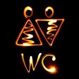 WC Lizenzfreies Stockfoto