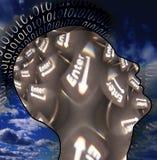 wchodzić do klucza umysł Obraz Royalty Free