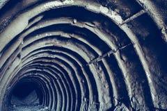 Wchodzić do metro kredy kopalni korytarz lub tunel Zdjęcie Royalty Free