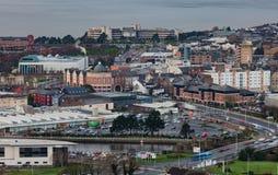 Wchodzić do Swansea miasto Zdjęcia Stock