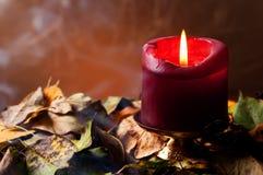 wciąż świeczki jesienny życie Obraz Royalty Free