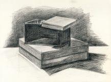 Wciąż żyć pudełka Zdjęcie Stock