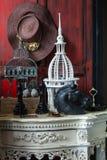 Wciąż życie dekoracja protestuje, różny dom odnosić sie Zdjęcia Stock