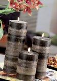 Wciąż życie domowe oświetleniowe świeczki lub katalizator lampa zdjęcie royalty free