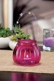 Wciąż życie domowe oświetleniowe świeczki lub katalizator lampa obrazy stock