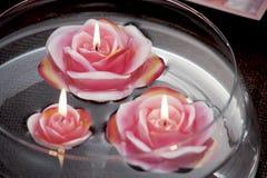 Wciąż życie domowe oświetleniowe świeczki lub katalizator lampa obrazy royalty free