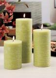 Wciąż życie domowe oświetleniowe świeczki lub katalizator lampa zdjęcie stock