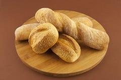 Wciąż życie z chlebem Fotografia Royalty Free