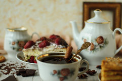 Wciąż życie z ciastami zdjęcie royalty free