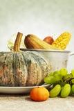 Wciąż życie Z warzywem i owoc Obrazy Stock