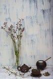Wciąż życie ziołowa herbata Zdjęcie Royalty Free