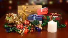 wciąż Bożego Narodzenia życie Obraz Royalty Free