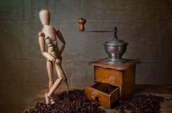 wciąż kawowy życie fotografia stock
