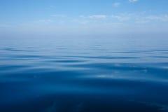 Wciąż morze bałtyckie Fotografia Stock