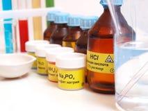 wciąż substanci chemicznej życie Zdjęcie Stock