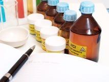 wciąż substanci chemicznej życie Obraz Stock