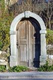 Wciąż target1032_1_ starzy drzwi Fotografia Royalty Free
