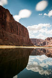 Wciąż woda Colorado rzeka Fotografia Stock