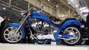 wściekłości Honda motobike Zdjęcie Royalty Free