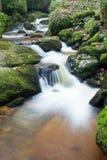 wcześniej robił halnemu jesieni zdjęcie biegunowemu strumieniowi góry Zdjęcie Stock