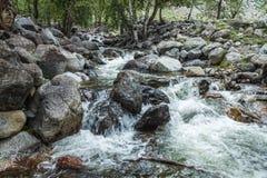 wcześniej robił halnemu jesieni zdjęcie biegunowemu strumieniowi góry Zdjęcia Royalty Free