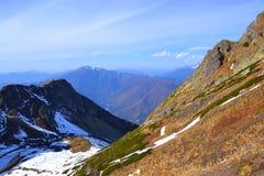 Wczesna jesień w górach Fotografia Stock