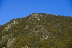 wczesna krajobrazowa halna wiosna Obraz Stock