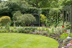 Wczesne lato ogród fotografia royalty free