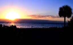 wczesnego poranku wschód słońca Fotografia Stock