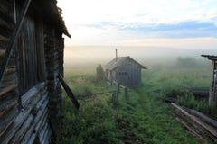 Wczesny mglisty ranek Zdjęcie Stock