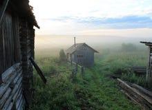 Wczesny mglisty ranek Zdjęcia Royalty Free