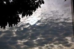 Wczesny poranek chmury Obraz Royalty Free