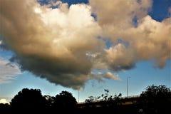 Wczesny poranek chmury Obrazy Royalty Free