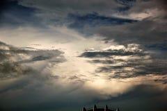 Wczesny poranek chmury Zdjęcie Stock