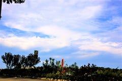 Wczesny poranek chmury Zdjęcia Stock