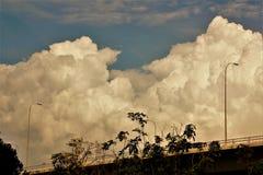 Wczesny poranek chmury Zdjęcie Royalty Free