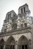 Wczesny Poranek Notre Damae zdjęcia royalty free