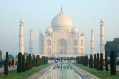 Wczesny poranek przy Taj Mahal w Agra, India Obrazy Stock