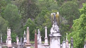 Wczesny poranek w cmentarzu zbiory