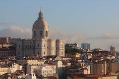 Wczesny Poranek w Lisbon zdjęcia stock