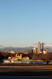 Wczesny Poranek w Miasto Parku, Denver, Kolorado Zdjęcie Stock