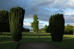 Wczesny Wieczór, Clumber parka krajobraz Obraz Stock