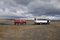 4wd περιπέτεια, Ισλανδία Στοκ εικόνα με δικαίωμα ελεύθερης χρήσης