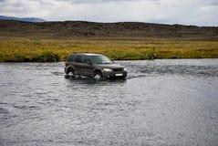 4wd avventura, Islanda Fotografia Stock Libera da Diritti