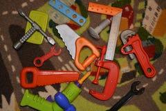 Wd coloré d'instruments Photos stock