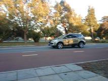 4WD d'accelerazione Immagine Stock