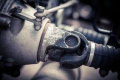 2WD motocykl kardanowy Fotografia Stock