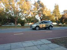 4WD que apresura Imagen de archivo